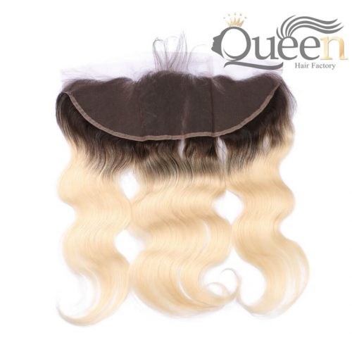 13 4 Swiss Lace Ombre Blonde 1b613 Brazilian Body Lace Frontal Brazilian Remy Hair