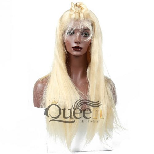 613 Blonde 360 Lace Wig Human Hair Brazilian Remy Blonde Lace Wigs Baby Hair Pre Plucked Hairline