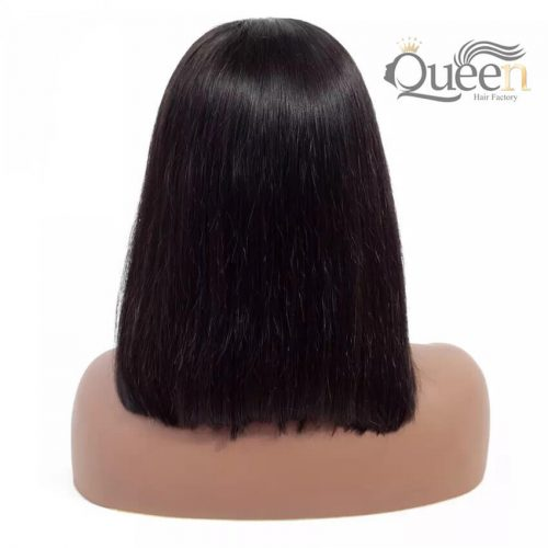 Bob 360 Lace Wig Pre Plucked Brazilian Virgin Human Hair Wig Short Bob Wig