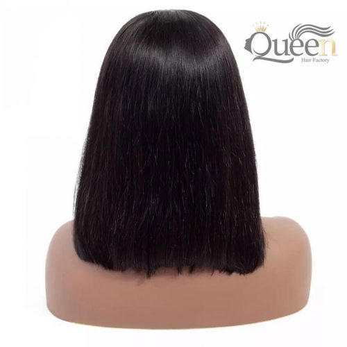 Bob-Lace-Frontal-Wig-Pre-Plucked-Brazilian-Virgin-Human-Hair-Wig-Short-Bob-Wig