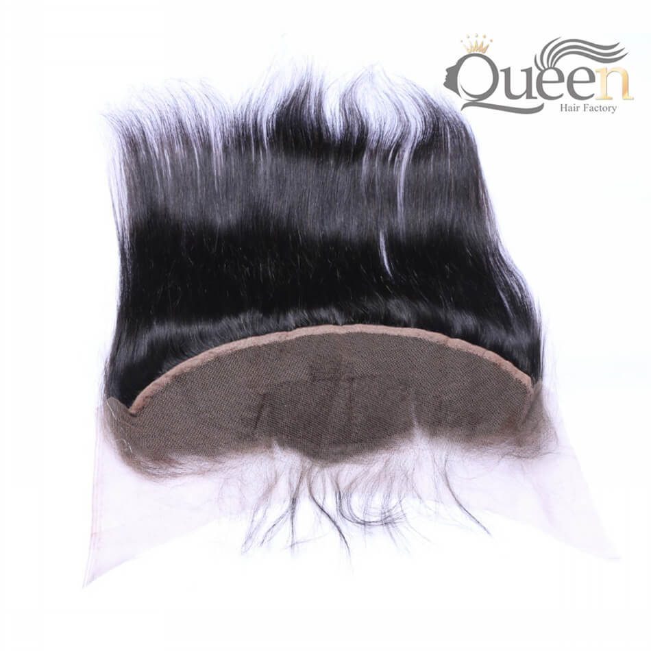 Brazilian Human Hair Straight 13 4 Lace Frontal Natural Color