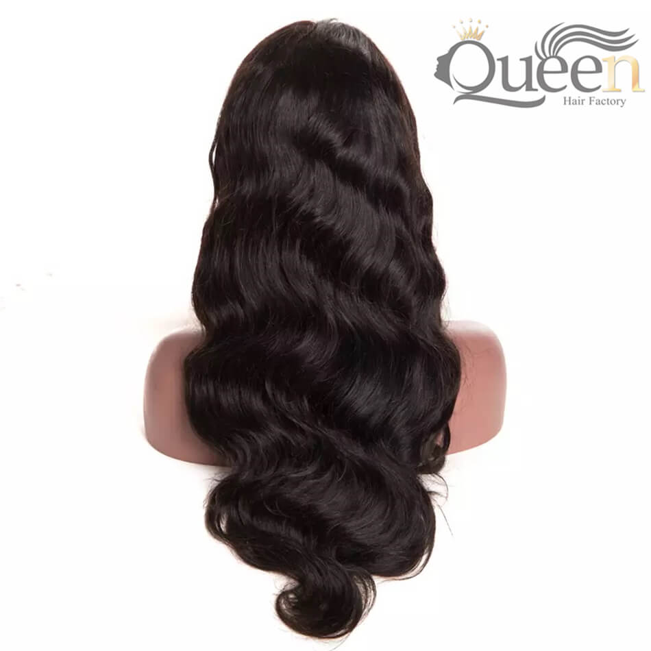 Glueless 360 Lace Wig Brazilian Body Wave Remy Human Hair Wig Pre Plucked With Baby Hair