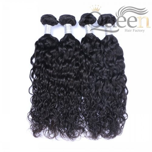 human hair natural wave bundles